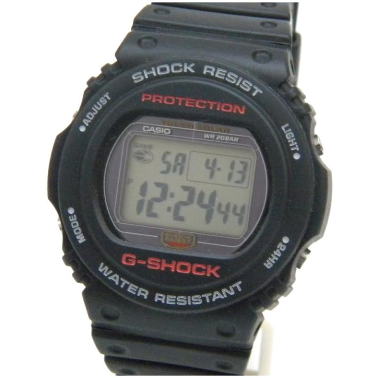 カシオ 腕時計 G-SHOCK タフソーラー G-5700-1JF 黒 【中古】(46199)