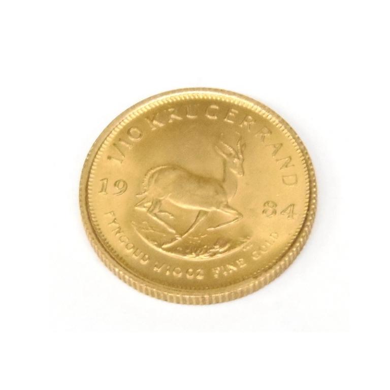 【メール便不可】 クルーガーランド金貨 1/10oz 1984年 【】(50712), なえ屋 96258f06