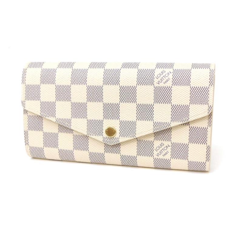 ルイヴィトン 長財布 新品 ポルトフォイユ・サラ N63028 ダミエ・アズール 新モデル 財布(27850)