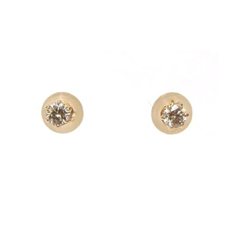 ピアス 18金 ダイヤモンド 0 10ct 0 10ctピンクゴールド K18PG 2つで0 4g492870nwmNv8