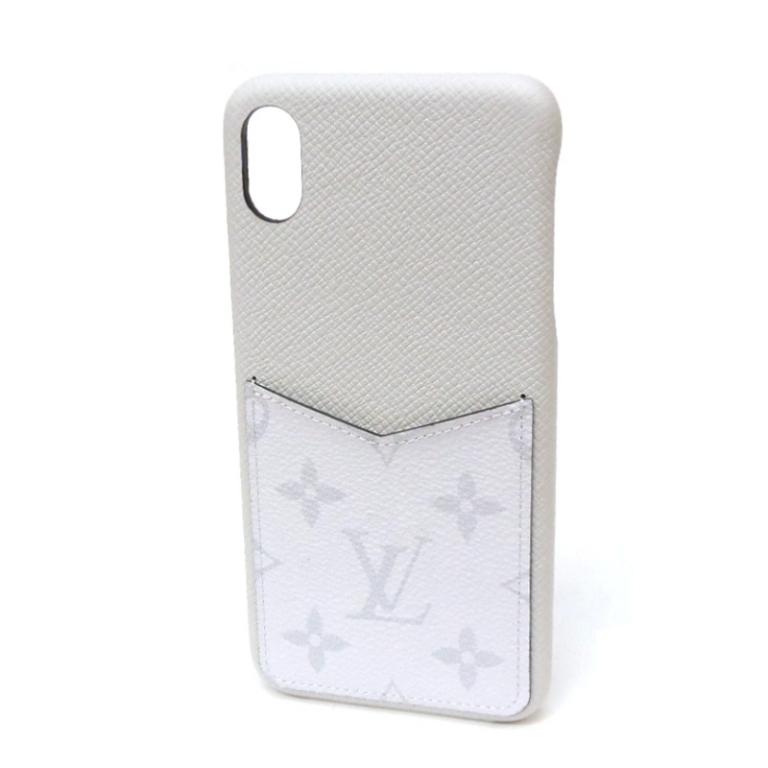 【エントリーでポイント最大44倍!】 【新品】ルイヴィトン iPhoneケース バンパーXS MAX M30277 アイホンケース アイフォンケース iPhone ケース スマホケース(51747)
