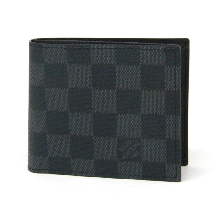 ルイヴィトン 新品 ポルトフォイユ・マルコNM2 二つ折り財布 グラフィット ヴィトン N63336 品薄商品(36675)