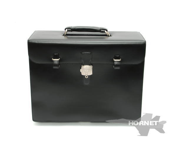 ダンヒル パイロットケース 2WAY ビジネスバッグ LW6020A ブラック カーフ 【中古】 1700744