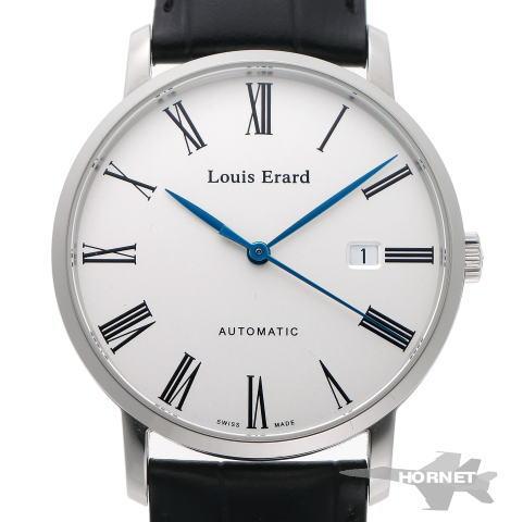 Louis Erard ルイエラール エクセレンス オートマチック LE68233AA01 シルバー文字盤 SS 【中古】【時計】 1810443