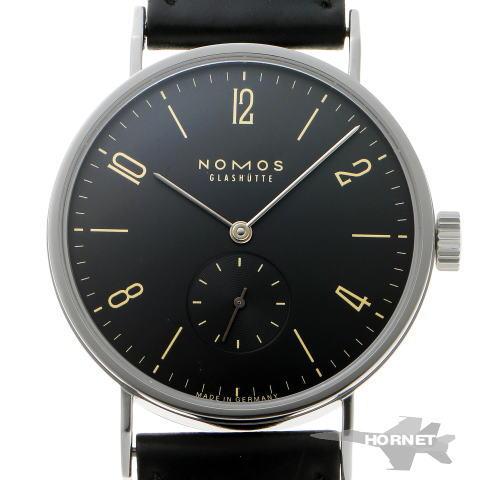 NOMOS ノモス タンゴマット オートマチック TN1E1G2 ブラック文字盤 SS 【中古】【時計】 1910230