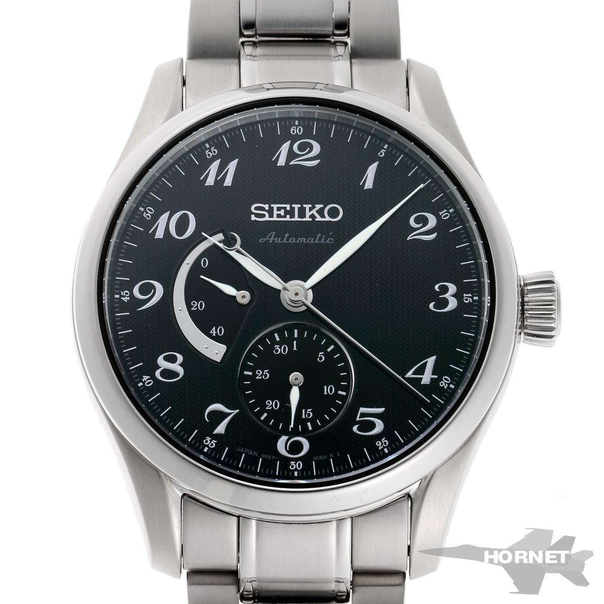SEIKO セイコー プレザージュ オートマチック SARW029 6R27-00J0 ブラック文字盤 SS 【中古】【時計】 1910313