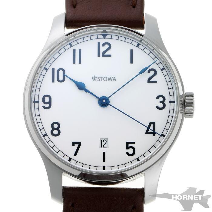 STOWA ストーヴァ マリーン デイト オートマチック STW-MARINE-DATE-L_17 ホワイト文字盤 SS 【中古】【時計】 1910360