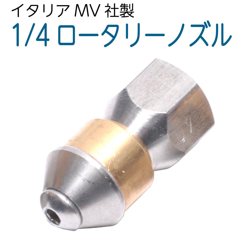 1/4サイズ ロータリー逆噴射ノズル 1.0mm3穴 (ドングリ)