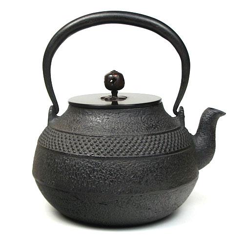 茶道具 銀瓶 鉄瓶 肩霰