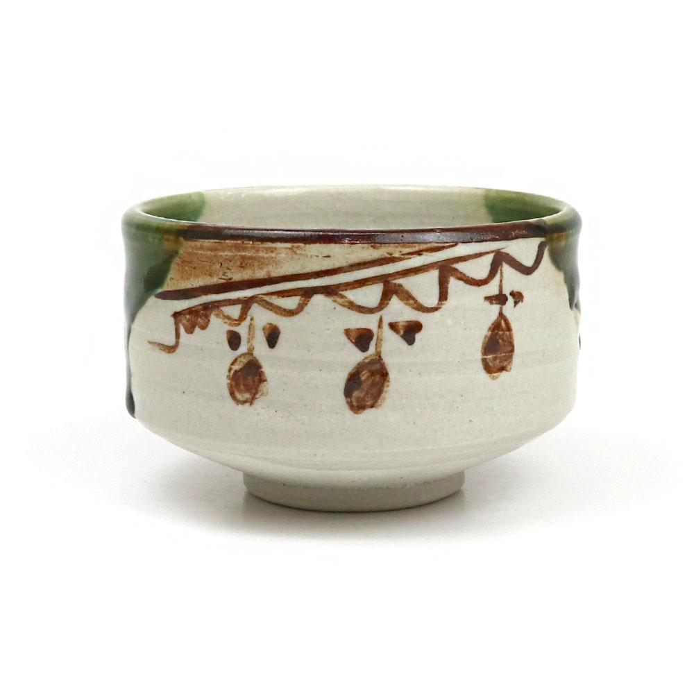茶道具 新発売 抹茶碗 小茶碗 織部 国際ブランド 加藤五陶作