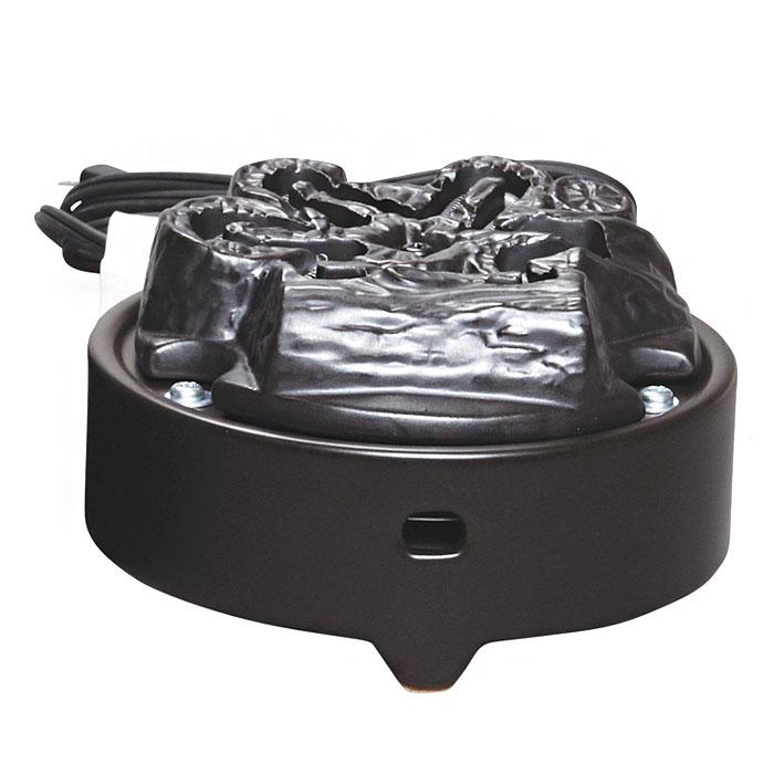 【茶道具 電熱器・ヤマキ電気】風炉用電気炭 嬉楽 五徳なし