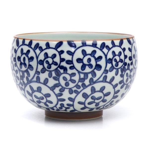 現品限りの特価商品です 茶道具 掘り出し物市茶碗 有田焼 別倉庫からの配送 作 唐草 清秀 値引き