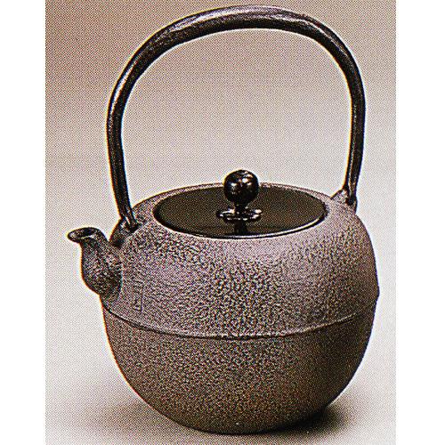 菊地政光作 鉄鉢鉄瓶