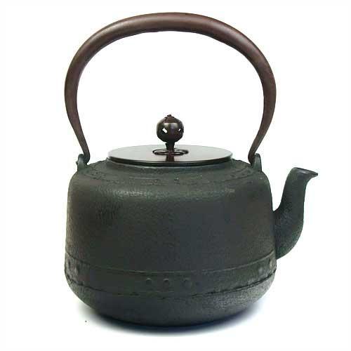【茶道具 鉄瓶】 茶道具 銀瓶 鉄瓶 万代屋(もずや)