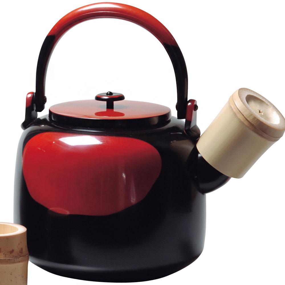 茶道具 水次/水注 腰黒薬缶 浄益形 口蓋無し 一政堂作