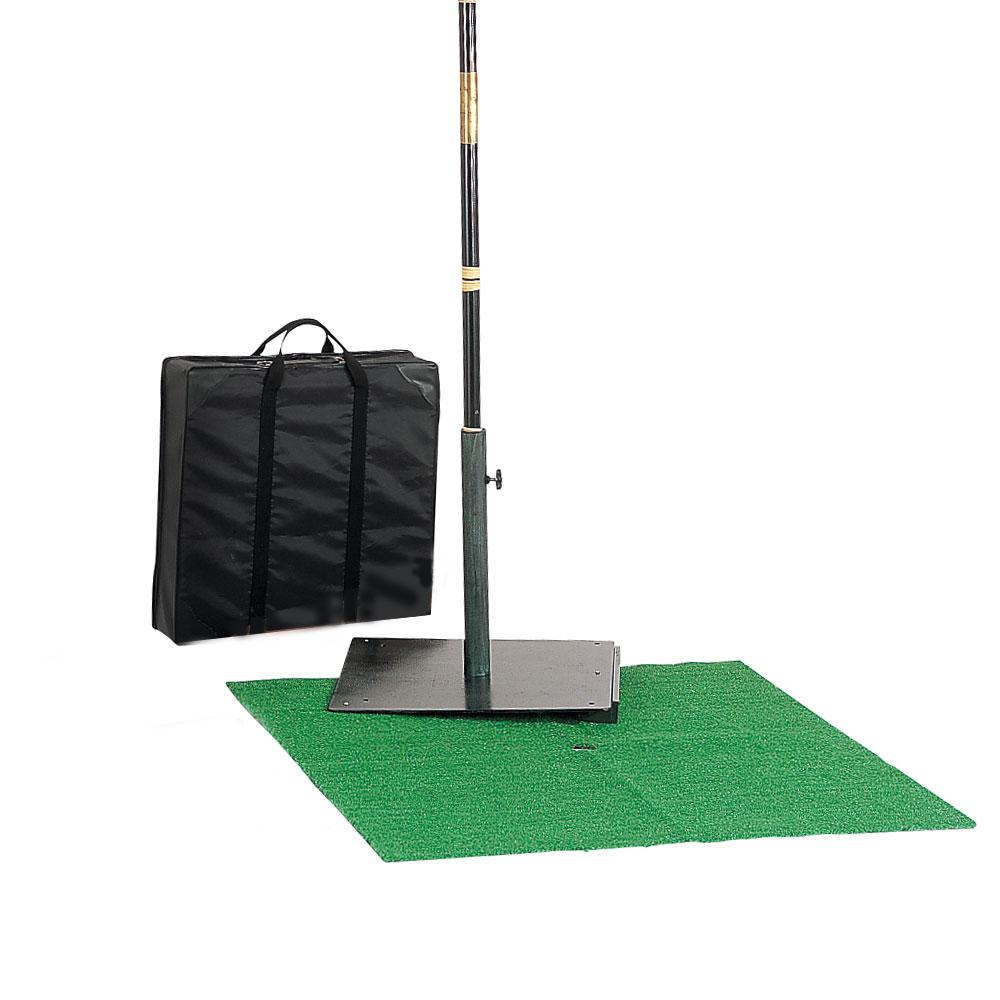 茶道具 野点傘用鉄四方 傘立台 収納バッグ 人工芝生付