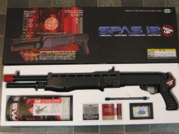 スパス12 SPAS12 エアーショットガン 3発同時発射! (18歳以上) 東京マルイ