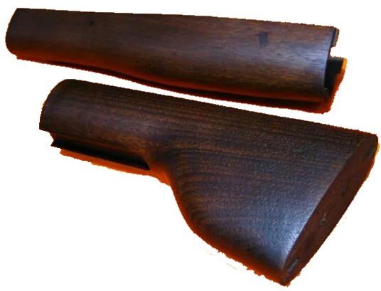 ウィンチェスター M1873 ランダルカスタム用 木製ストックセット KTW
