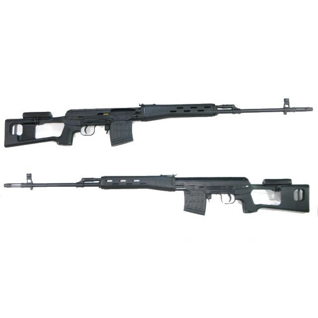 DRAGUNOV SVD ドラグノフ スナイパーライフル [狙撃銃] エアガン (18歳以上) クラウンモデル