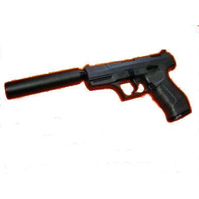 ワルサー P99 (フィクスドスライド) サイレンサーモデル WALTHER P99 (18歳以上) マルゼン