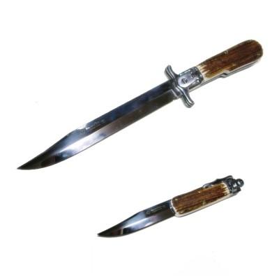 マセリン ロールアップヒルト ハンティングナイフ Maserin HUNTING KNIFE [No.179/CV]