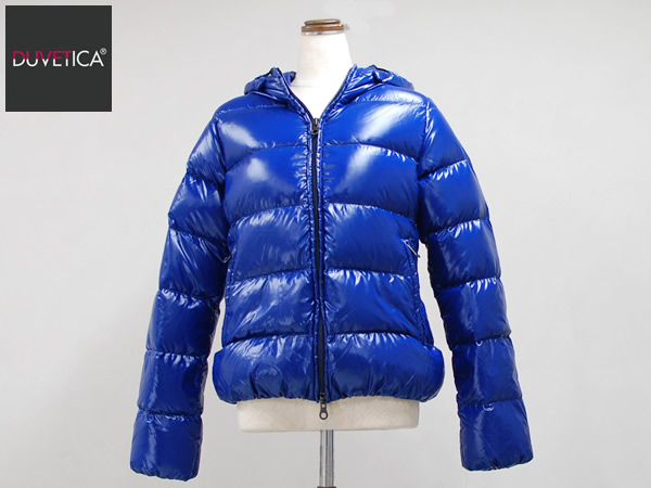 DUVETICA(デュベティカ) レディース ダウンジャケット ADHARA(アダラ) サイズ(44) カラー(727-ZAFFIRO ブルー系) 日本正規商品