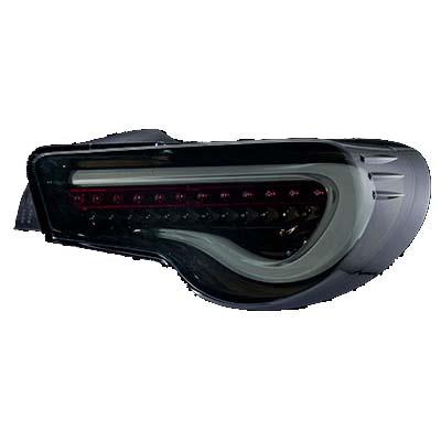 ヴァレンティ(VALENTI) ジュエルLEDテールランプ 86/BRZ用 ライトスモーク/ブラッククローム TT86Z-SB-1