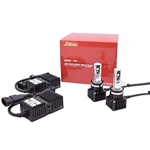 ZRAY RF1 フォグライト専用LEDバルブ H8/H11/H16 6500K 日本製 3年保証