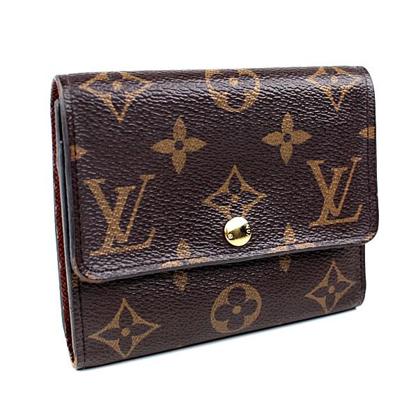 ルイヴィトン ポルトフォイユ・アナイス 三つ折り財布 モノグラム M60402 コンパクト財布 k448 【中古】