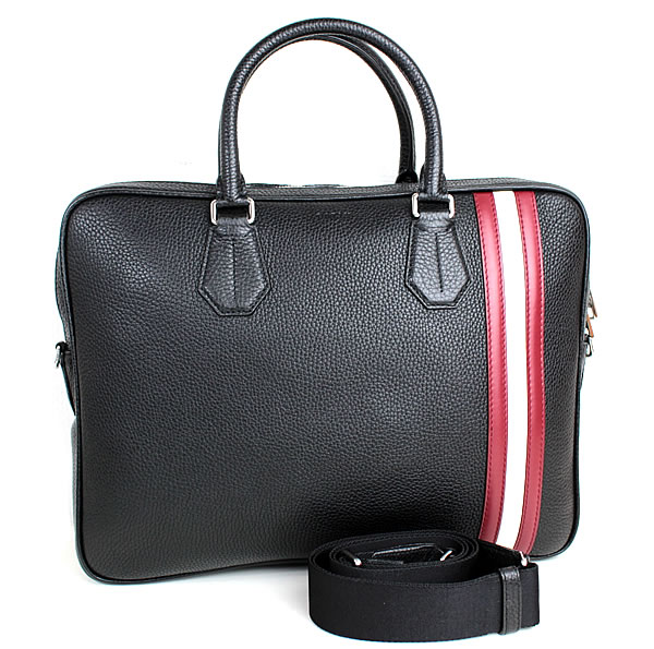 バリー 販売 ビジネスバッグ ブリーフケース 書類かばん トートバッグ 激安卸販売新品 黒 中古 ブラック 新品同様 BALLY n822