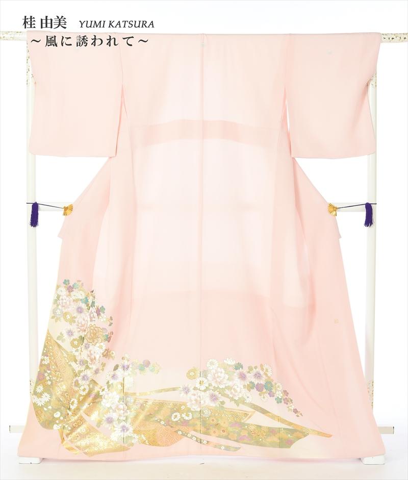 留袖 レンタル 留袖レンタル 色留袖レンタル レンタル色留袖 色留袖レンタルフルセット 風に誘われて 結婚式 五つ紋 150cm~170cm 8AB82