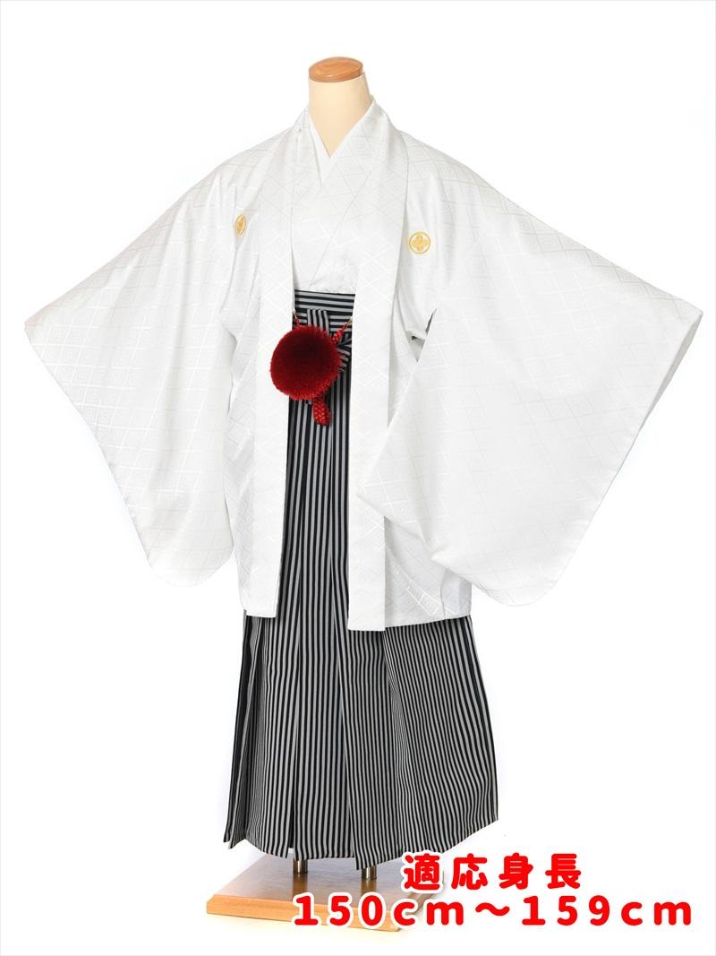 【レンタル】小学生 卒業式 男 紋付袴セットレンタル8AQL03 卒業式 結婚式 十三参り 小学校 男の子