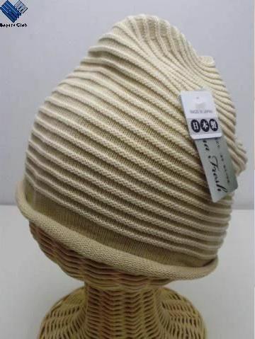 医療用 帽子 抗がん剤副作用 脱毛 手術後用ケア帽子 ボーダーニット室内 医療用帽子 591-121A SEKマーク認証 世界の人気ブランド 最新アイテム