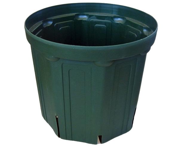 種子 野菜 苗 花 半額 ポット 鉢 プランター CSM-135 モスグリーン 園芸 10個セット 交換無料 スリット鉢 4.5号鉢