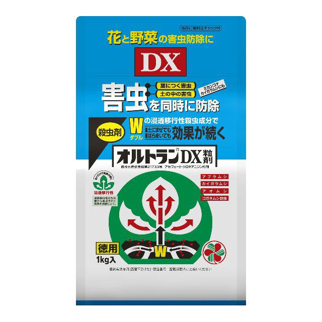殺虫剤 オルトランDX粒剤 1kg×12個セット 【ケース販売】
