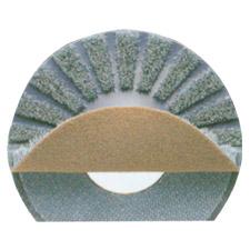 3M フロアブラシ(茶)No.73 剥離・重洗浄用 13インチ 330mm【業務用 フロアブラシ】