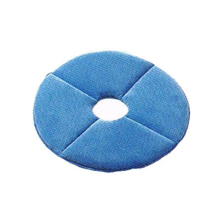リンレイ ベルベットパッド 18インチ(2枚)【業務用 セラミック床用パッド】