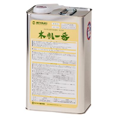 ミヤキ 木肌一番 4L【業務用 木材用保護剤】