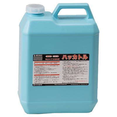 強力エフロ除去剤 ハッカトル ミヤキ ハッカトル 4L【業務用 石材用洗剤】