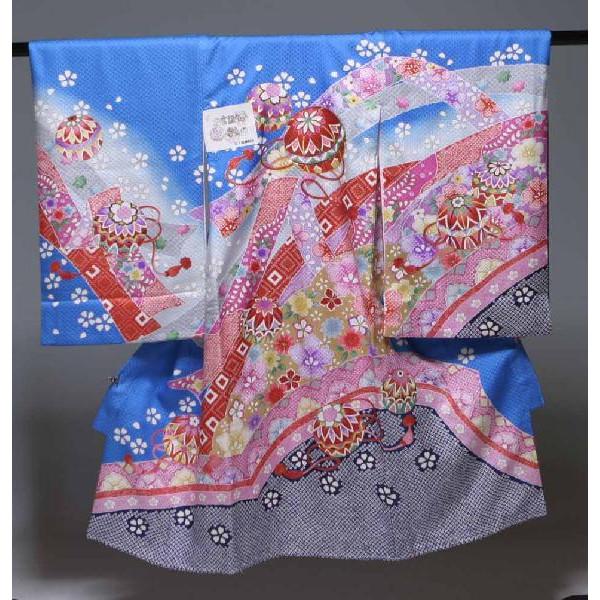 お宮参り祝着物(うぶぎ  掛け着物)女の子  118疋田