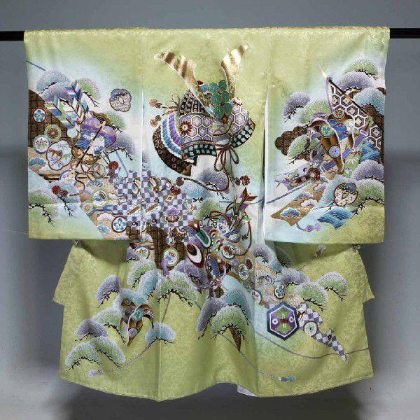 お宮参り祝着物(うぶぎ  掛け着物)男の子 1034