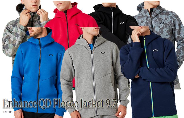 【★】【2019年秋冬モデル】オークリーENHANCE QD FLEECE JACKET 9.7【472585】 OAKLEY フリースジャケット【即納可】