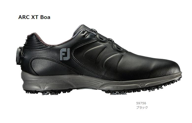 【★】FJ ARC XT Boa (FJ エーアールシー エックスティー Boa)【59756】ブラック(W)FOOT JOY フットジョイ 日本モデル ゴルフシューズ【2019年NEW】
