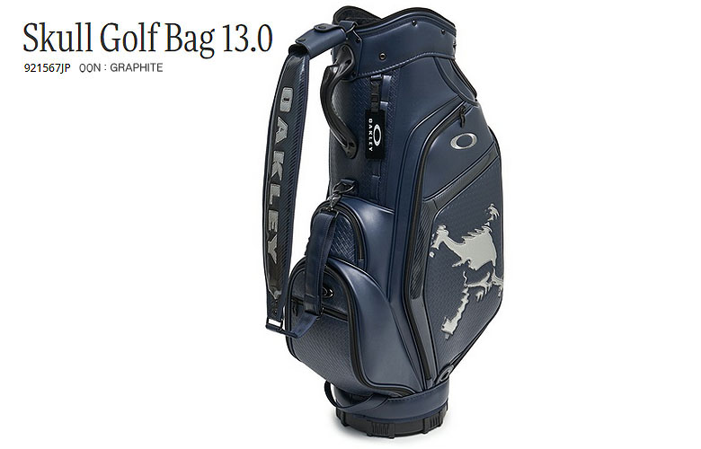【★】【2019年秋NEWカラー】【921567JP】オークリー スカル ゴルフ バッグ13.0OAKLEY SKULL GOLF BAG 13.0日本正規品【即納可】00N:GRAPHITE