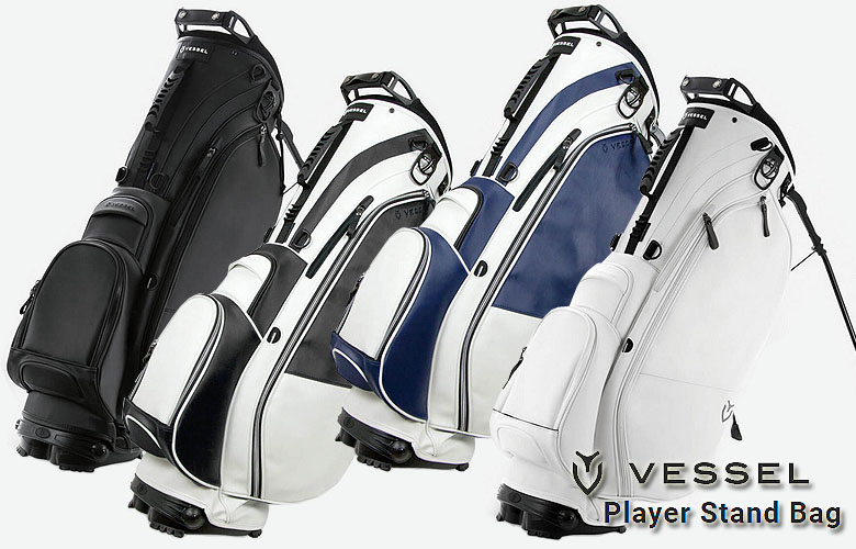 【★】【2019年NEW】VESSEL Player Stand Bagベゼルゴルフ プレイヤー スタンド バッグ日本正規代理店モデル キャディバッグ