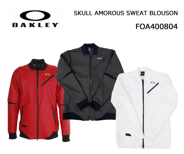【◆】【今だけ!特別価格!即納です。】【2020年春夏モデル】オークリー【FOA400804】SKULL AMOROUS SWEAT BLOUSONOAKLEY スウェット ブルゾン ジャケット