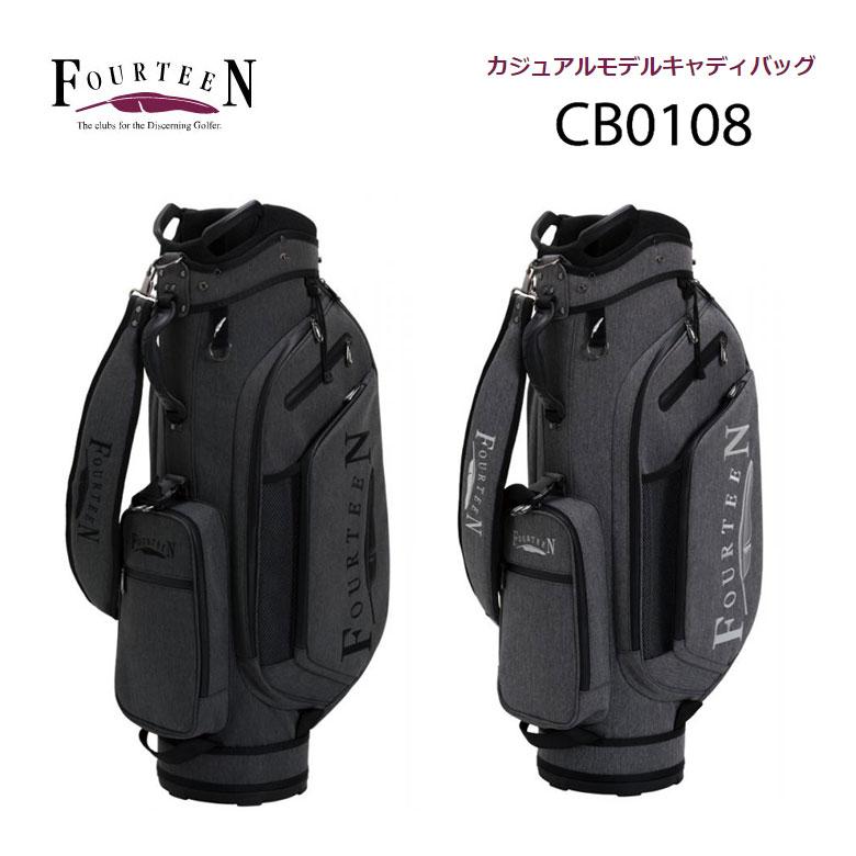 【◆】フォーティーン ゴルフ カジュアルモデル キャディバッグFOURTEEN 9型【CB0108】cb-0108【2020年モデル】
