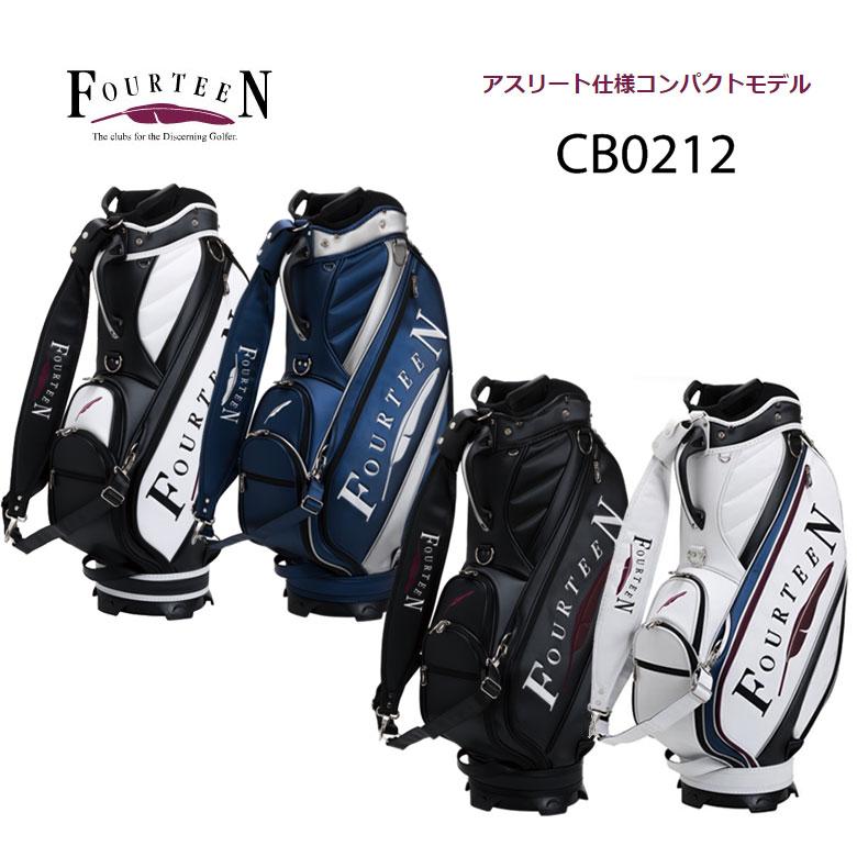 【◆】フォーティーン ゴルフ アスリートモデル キャディバッグFOURTEEN 9型 アスリート仕様コンパクトモデル【CB0212】cb-0212【2020年モデル】