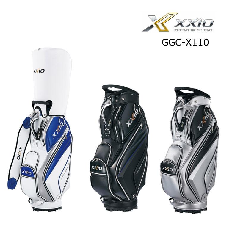 【★】ダンロップ ゴルフ ゼクシオ XXIO メンズ キャディバッグ GGC-X110 2020年モデル