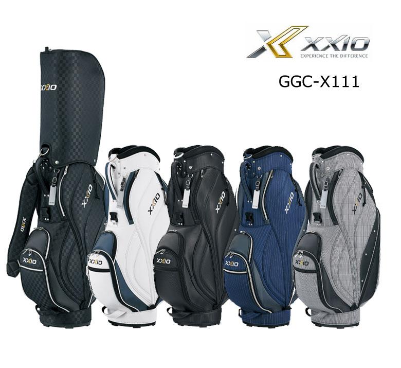【★】ダンロップ ゴルフ ゼクシオ XXIO メンズ キャディバッグ GGC-X111 2020年モデル